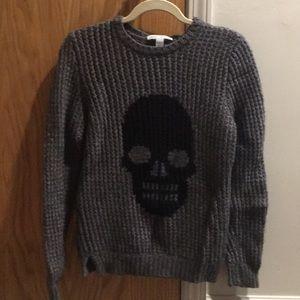 Cashmere Skull Sweater
